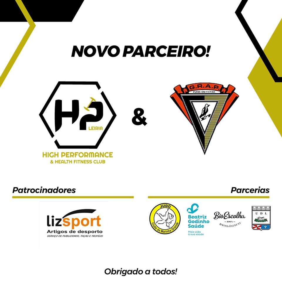 Lizsport patrocinador oficial Hight Performance Leiria